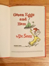 """Vintage """"Green Eggs and Ham"""" 1960 hardcover childrens book - 1st Edition image 3"""