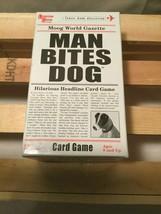Man Bites Dog - Outrageous Card Game - Make Up Hilarious Headlines - Family Fun - $16.78