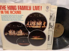 THE KING FAMILY Live In The Round LP Record Album Vinyl - £6.06 GBP