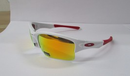 Oakley Sunglasses 9200-03 Quarter Jacket Youth Fit Fire Iridium NEW & Or... - £60.97 GBP