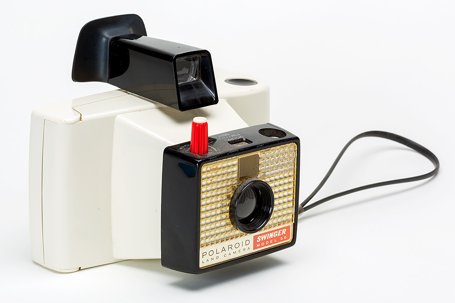 Vintage Polaroid Swinger Model 20 Camera