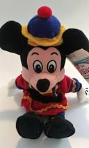 Nutcracker Mickey Disney Store Vintage Bean Bag Plush - $13.71