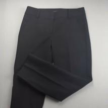 Talbots Womens Cropped Dress Pants Size 2 Petite Ruffle Pockets Stretch ... - $15.84