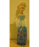 "Disney Cinderella Doll 11 1/2"" with choker and shoes"" - $7.75"
