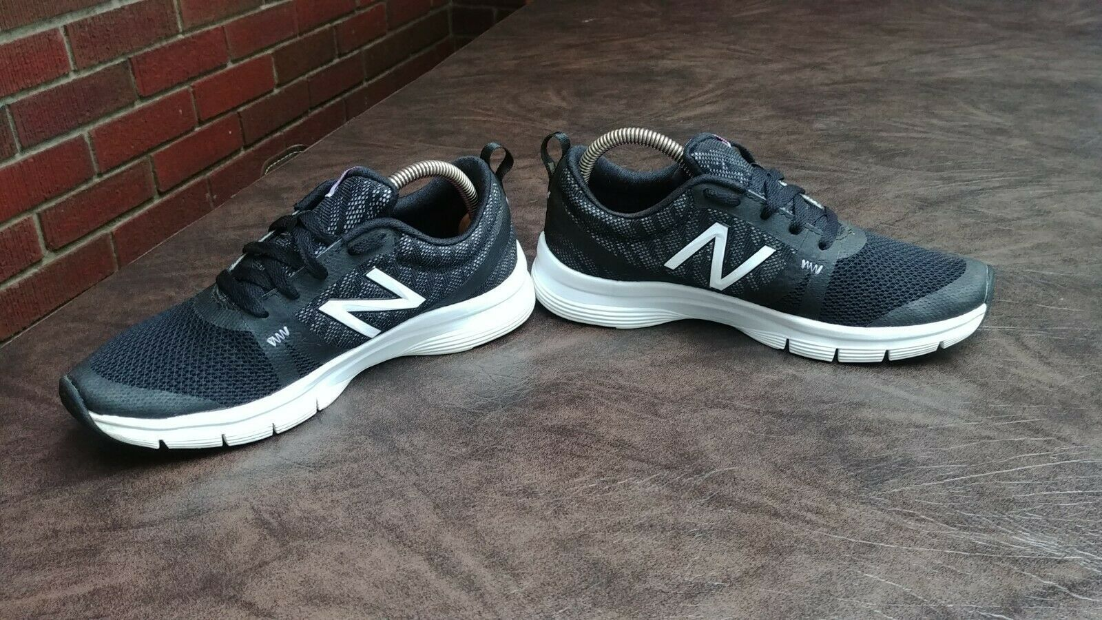 WOMENS NEW BALANCE 715 RUNNING SHOES SZ 8 39.5 B USED SNEAKERS WX715CP1