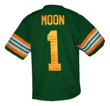 Warren Moon #1 Edmonton Eskimos Men Football Jersey Green Any Size image 2