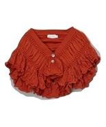 Trending Miss Rabbit Rust Crochet Sweater - Girls MSRP $40.99 SAVE $8.01 - $32.99