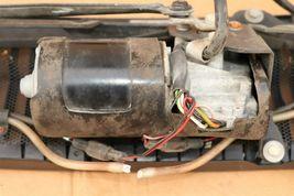 81-89 JAGUAR XJS WINDSHIELD Wiper Motor Assembly & Cowl image 8