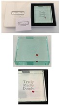 "Spaceform London Paperweight  "" Truly Madly Deeply"" Love Gift Her Or Him... - $42.00"