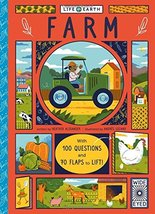 Life on Earth: Farm: With 100 Questions and 70 Lift-flaps! [Board book] ... - $7.74