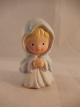 Avon Heavenly Blessings Nativity Mary Miniature Figurine Replacement Cer... - $9.89