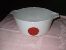"""Vintage Pyrex """"Moon Deco"""" 2 1/2 Quart Casserole Dish--#475-B - $40.00"""