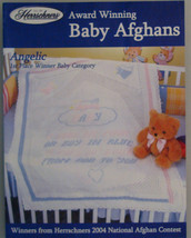 Award Winning  Baby Afghans Knit pattern leafle... - $1.25