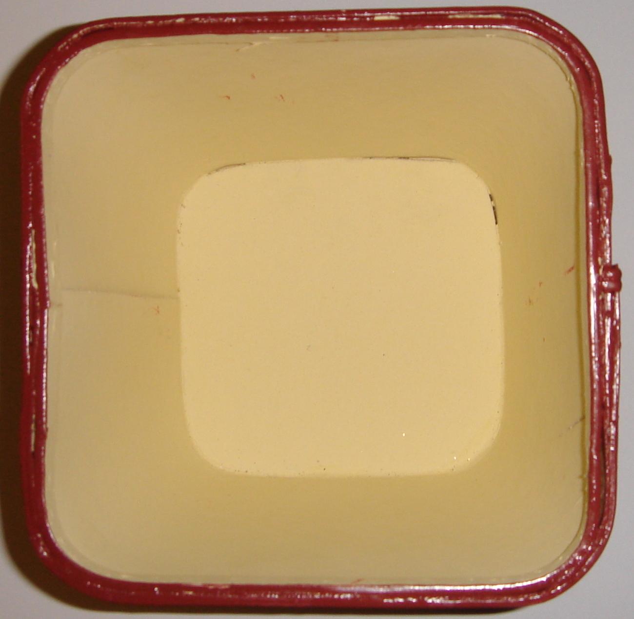Cream Colored Wooden Basket w/ Pumpkin Butter Recipe