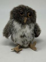 Folkmanis Finger Puppet Mini Spotted Owl New Animals Soft Doll Plush 2638 - $9.89
