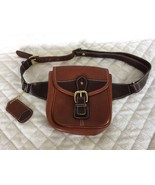 Stone Mountain Tan Leather Fanny Pack Waist Pouch NEW - $29.69