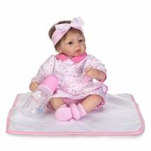 """17"""" 100% Handmade Silicone Reborn Toddler Girl Doll Real Lifelike Soft V... - $37.99"""