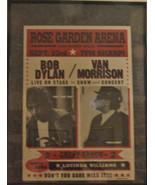 BOB DYLAN & VAN MORRISON SEPT 23, 1998 ROSE ARENA CONCERT POSTER - $66.83