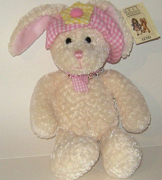 50% off! Gund Plush Best Friends Bunny Rabbit New w Tag