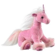 Soft Cuddly Fabric Unicorn Plush Doll Pony Stuffed Fluffy Animal Toy Gif... - $14.46