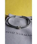 David Yurman X Bracelet With Gold   - $220.50