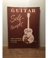 Deluxe Edition Guitar Self-Taught by Ed Sale, Copyright 1952 Vintage How... - $17.81