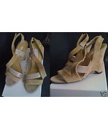 MARC JACOBS COLLECTION $595 leather lizard skin wedge shoes Euro 37 NIB ... - $299.99