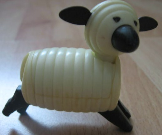 Vintage HTF Fisher Price Little People Sheep