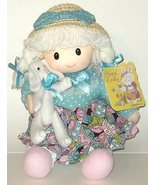 1/2 Price! Easter Girl Doll with Plush Bunny New with Tag - $4.00