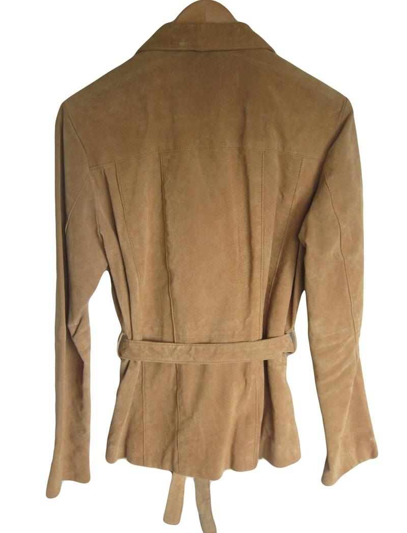 Suede coats for women