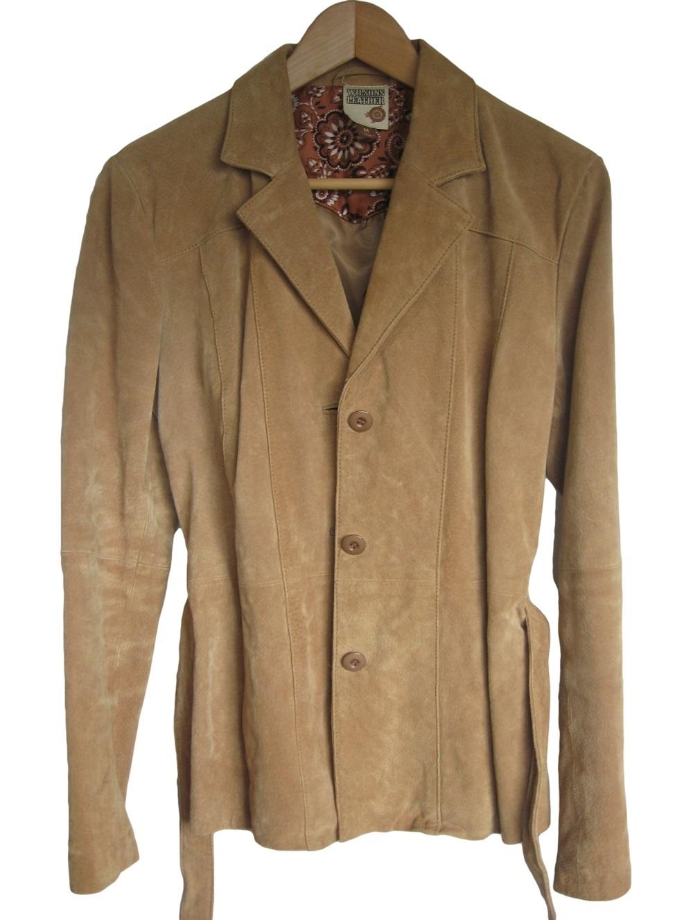 Suede coats womens