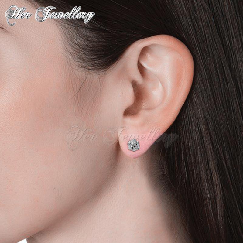 Sweet Rosy Earrings