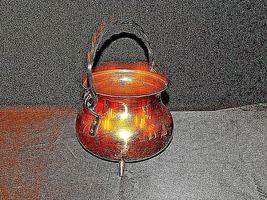 Copper Cauldron Cauldron with Metal Handle RIO TIEL AA19-1505 Antique image 3