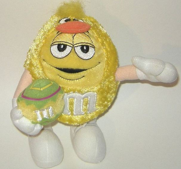 1/2 Price! M&Ms Galerie Yellow Plush Easter Duck Chick