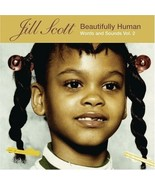 Jill Scott Beautifully Human Words and Sounds Vol. 2 Cd 2009 - $14.99