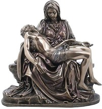 Pieta Statue - Cold Cast Bronze Sculpture - Magnificent - $71.18