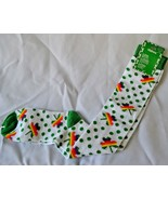 St. Patricks Day Knee Socks Rainbow Shamrock Green Polka Dots Women's 9-... - $14.79