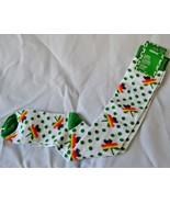 St. Patricks Day Knee Socks Rainbow Shamrock Green Polka Dots Women's 9-11 - NEW - $14.79