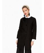 Kate Spade Tweed Corsage Coat Black 6 - $296.99