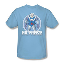 Mr. Freeze T shirt retro 80's cartoon DC Gotham Batman cotton graphic tee DCO321 image 2