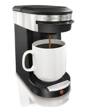 Personal One Cup Pod Drip Brewer Single Serve 1 Soft Disc Coffeemaker N... - $34.61