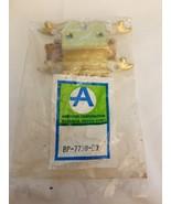 AMEROCK HINGE WHITE AND BRIGHT BRASS BP-7738-BW - $4.90