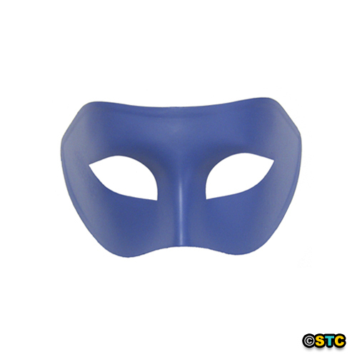 Blueberry Blue Venetian Party Masquerade Mask ~ Mardi Gras