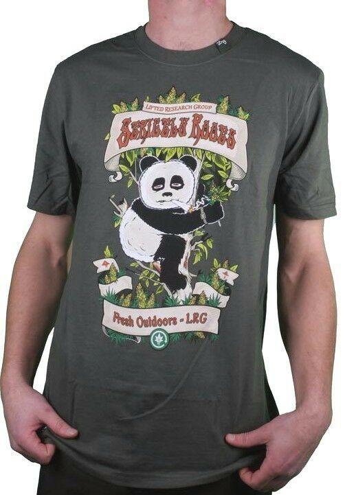 LRG Estrictamente Raíces Hierba Junta Fumar Panda Oliva Oscuro Blanco o Negro