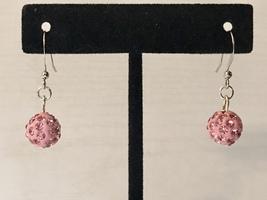 Pink Disco Ball Drop Hook Earrings - €7,40 EUR