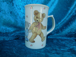 Vintage Mikasa Tall Teddy Mug CC018 Japan, Mikasa Teddy Bear Mug, Teddy Bear Mug - $10.00