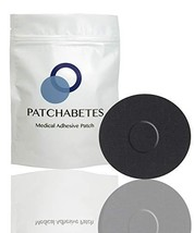 Adhesive Patches - 20 Count - CGM Adhesive, Waterproof Black