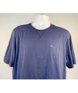 Tommy Bahama Marlin Logo T Shirt Mens Large Blue 100% Supima Cotton - $24.70