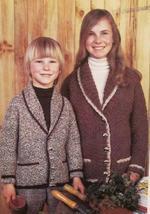 EMU Double Knitting Patterns CHILDRENS Knit Cardigan Sweaters Jackets BO... - $5.95