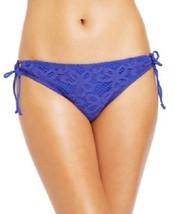 NWT NEW Kenneth Cole Reaction Crochet Bikini Bottom OCN Blue S Small - $7.91
